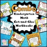 Math Worksheets Kindergarten BUNDLE | Kindergarten Math Worksheets Spring & More