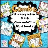 Kindergarten Math Worksheets BUNDLE Addition Subtraction Distance Learning