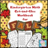 Math Centers Kindergarten September NO PREP | Kindergarten Math Worksheets Fall