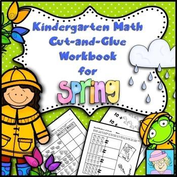 Addition & Subtraction Worksheets   Spring Kindergarten Math & BOOM CARDS