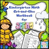Spring Math Worksheets Kindergarten with BOOM CARDS