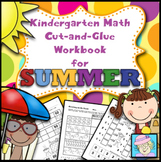 Summer School Math for Kindergarten | Math Review Worksheets End of the Year