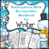 Winter Math Worksheets Kindergarten NO PREP Addition Subtraction Place Value