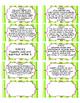 Kindergarten Math Common Core File Folder Labels