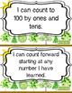 "Kindergarten Math Common Core ""I Can"" Statements"