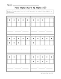 Kindergarten Math Common Core K.OA.4 Standard Assessment