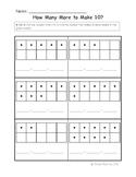 Kindergarten Math Common Core K.OA.4 Standard Assessment