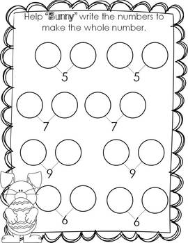 Kindergarten Math Common Core Operations and Algebraic Thinking HOLIDAYS edition