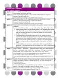 Kindergarten Math Common Core Standards with Kid Friendly