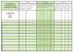 Kindergarten Math Common Core Standards Gradebook
