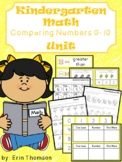 Kindergarten Math ~ Comparing Numbers 0-10