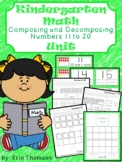 Kindergarten Math Unit ~ Composing and Decomposing Numbers 11-20