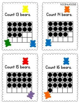 Kindergarten Math {Counting & Cardinality}