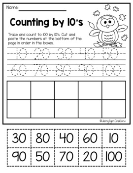 Kindergarten Math: Counting & Cardinality