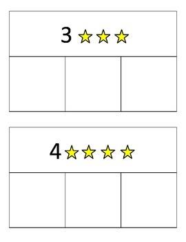 Kindergarten Counting Math Center Activity - Common Core K.CC.4abc