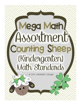 Kindergarten Math ~ Counting Sheep ~ Numbers and Operations