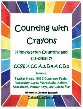 Kindergarten Common Core Math Counting and Cardinality-Cou
