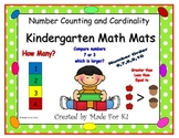 Kindergarten Math Counting and Cardinality Mats CCSS RtI