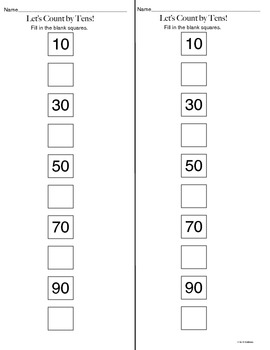 Kindergarten Math (Counting and Cardinality): Number Names & the Count Sequence