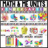 Kindergarten Math Year Long Growing Bundle