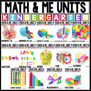 Kindergarten Math Curriculum for the Year