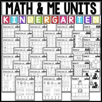 Kindergarten Math Curriculum for the Year