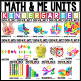 Kindergarten Math  : Math and Me : Year Long Growing Bundle