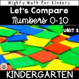 Kindergarten Math Curriculum UNIT 3 LET'S COMPARE 0-10