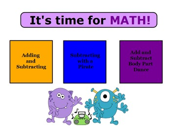 Kindergarten Math Daily Routines Flipchart: Addition and Subtraction