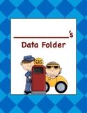 Kindergarten Math Data Folder