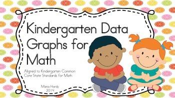 Kindergarten Math Data Graphs