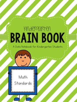 Kindergarten Math Data Notebook Brain Book