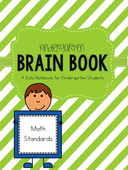 Kindergarten Math Data Notebook Brain Book