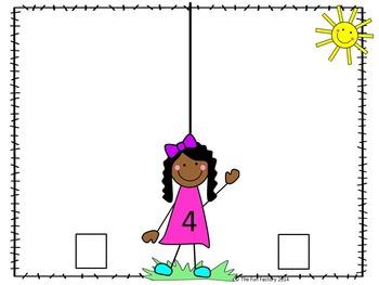 Decomposing Numbers ~ Kindergarten Math