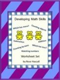 Fine Motor Skill Activities, Preschool Math Worksheets, Cut and Paste Activities