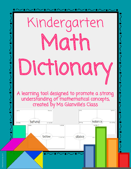 Kindergarten Math Dictionary