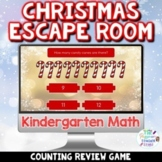 Kindergarten Math Digital Christmas Escape Room Game   Cou