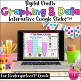 Kindergarten Math Digital Graphing and Data for Distance L