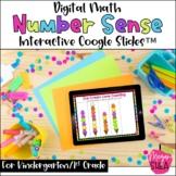 Kindergarten Math Digital Number Sense for Distance Learni