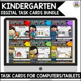 Go Math Kindergarten Digital Task Cards Bundle