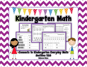 Kindergarten Math {EDM 5&6}