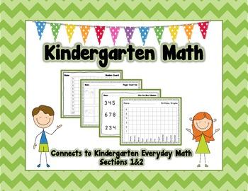 Kindergarten Math {EDM Sections 1&2}