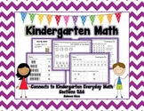 Kindergarten Math {EDM Sections 5&6}