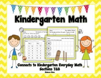 Kindergarten Math {EDM Sections 7&8}