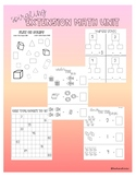 Kindergarten Math End of the Year Extension Unit