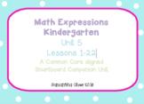 Kindergarten Math Expressions Companion for Unit 5