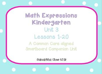 Kindergarten Math Expressions Smartboard Companion Unit 3