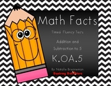 Kindergarten Math Facts