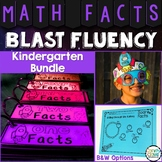 Kindergarten Math Facts Practice Bundle for Fluency - Fact