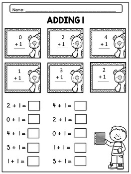 Math Facts Fluency Kindergarten: Addition and Subtraction to 5